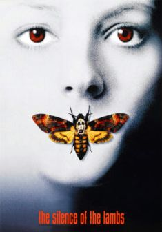 The Silence of the Lambs - Oscar-winning adaptation of Thomas Harris' crime novel starring Jodie Foster & Anthony Hopkins as Dr Hannibal Lecter. Jodie Foster, Best Movie Posters, Horror Movie Posters, Horror Movies, Classic Movie Posters, Comedy Movies, Suspense Movies, Classic Movies, Old Film Posters