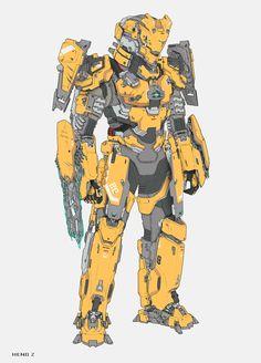ArtStation - 反击装甲, Heng Z