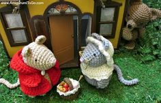 1000+ images about Crochet - mice on Pinterest Mice ...