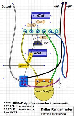 moutoulos trade RangeMaster TB Based DIY Guitar Pedal Effect