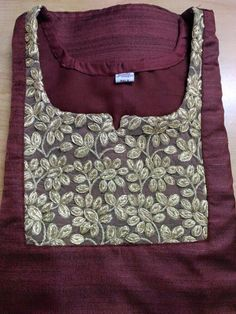 How to make different types of kurthi neck patterns - Simple Craft Ideas Salwar Neck Patterns, Neck Patterns For Kurtis, Salwar Pattern, Salwar Neck Designs, Churidar Designs, Kurta Neck Design, Kurtha Designs, Chudidhar Neck Designs, Neck Designs For Suits