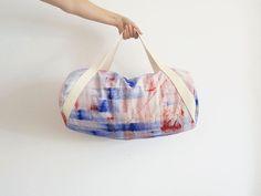 DIY-Anleitung: Sporttasche im Rollbag-Format nähen via DaWanda.com