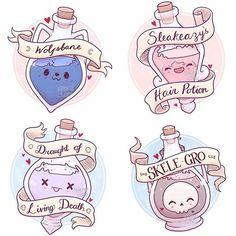 Harry Potter Tumblr, Harry Potter Fan Art, Harry Potter Anime, Estilo Harry Potter, Harry Potter Stickers, Cute Harry Potter, Harry Potter Drawings, Harry Potter Pictures, Harry Potter Fandom