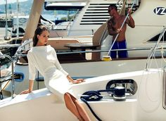 Fashion pictures or video of la mania s/s campaign; in the fashion photography channe Party Fashion, Fashion Shoot, Fashion Beauty, Luxury Lifestyle Fashion, Audrey Hepburn Style, Vogue, Fashion Cover, Bikini, Nautical Fashion