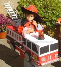 I think we're going to replicate this for Charlie this year... he wants to be a fireman. So, should Marlo be the fire? A dalmation? Hmmm...
