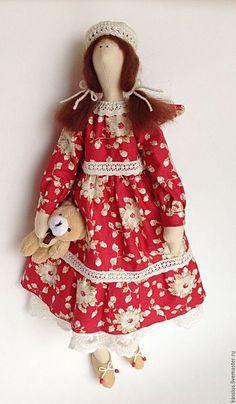 Куклы Тильды ручной работы. Ярмарка Мастеров - ручная работа. Купить Ангел детства (Интерьерная кукла ангел тильда). Handmade.