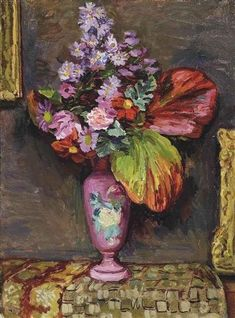 "Duncan Grant ""Autumn Flowers"", 1943 (Great Britain, Bloomsbury Group, 20th cent.)"