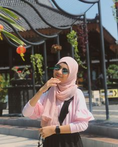 Casual Hijab Outfit, Ootd Hijab, Hijab Chic, Modern Hijab Fashion, Love Pictures, Ulzzang, Model, Twin, Outfits