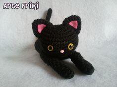 Gato Negro - Arte Friki