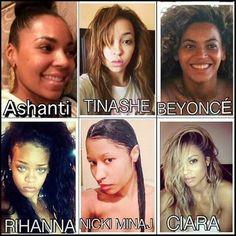 GetMotivatedNaija: BEYONCE, RIHANNA, NICKI MINAJ etc WHO LOOKS BETTER...