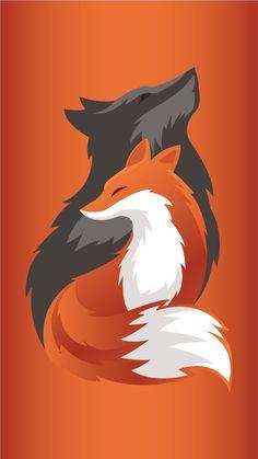 der Geist des Todes // der große Fuchs // der linke Geist // verlorene Stern-Od the spirit of death // the big fox // the left spirit // lost star od … Cute Animal Drawings, Cute Drawings, Cute Fox Drawing, Drawing Animals, Anime Animals, Cute Animals, Fuchs Illustration, Fox Art, Furry Art