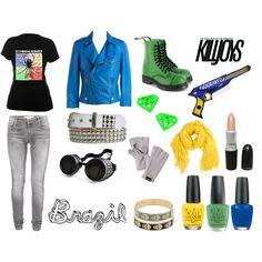 """""""Killjoy Outfit 9"""" by kristyfaithhite on Polyvore"""