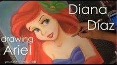 In this video I will show you step by step how to draw Ariel from The Little Mermaid! En este video les voy a mostrar paso a paso como dibujar a Ariel de La . Diana Diaz, Disney Girls, Disney Princess, Speed Art, Cool Animations, Ariel The Little Mermaid, Princesas Disney, Art Tutorials, The Dreamers