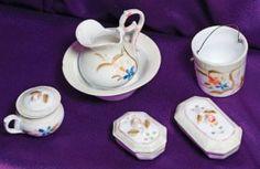 Doll Porcelain Toilette Set