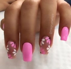 G Nails, Rose Nails, Chic Nails, Matte Nails, Subtle Nail Art, Pink Nail Art, Leopard Nails, Cool Nail Designs, Mani Pedi