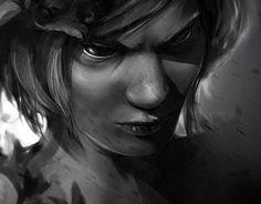 "Check out new work on my @Behance portfolio: ""gloomy princess"" http://be.net/gallery/57051307/gloomy-princess"