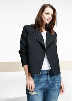 Square textured jacket