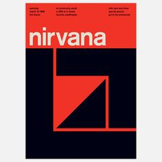 Nirvana, 1988 17x23.75 now featured on Fab.