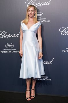 Cannes 2015: Uma Thurman in Prada   - HarpersBAZAAR.com