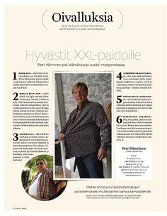 Kuka oli miesten painonhallintaryhmän suurin pudottaja - 1/1 jutun Petristä teki KG-lehti 6/2013 www.mezina.fi