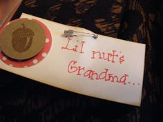 cute tags for the grandparents?