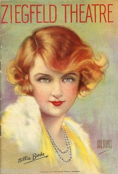 Show Girl - 1929 Gershwin musical.  The producer Ziegfeld put his wife Billie Burke (Glinda in the film The Wizard of Oz) on the program cover, but she was not in the cast.