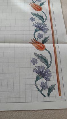 Cross Stitch Designs, Cross Stitch Patterns, Russian Cross Stitch, Linen Napkins, Cross Stitch Flowers, Cross Stitch Embroidery, Crafts, Bath Towels & Washcloths, Alphabet