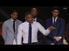 Russell Westbrook - Emotional Speech -  Most Valuable Player (MVP) Award | 2017 NBA Awards - YouTube