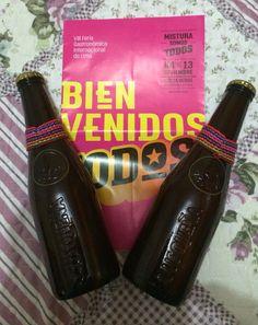 Cerveza Cusqueña de Quinua, Mistura 2015 Lima, Peru.