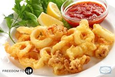 #FreedomOfChoice We suggest you have a plate of fried calamari straight from the beaches of Goa! Crunchy on the outside, chewy on the inside. It's a mouth watering snack you can't get enough of!