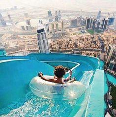 World highest water slide, Dubai