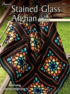 Stained Glass Scrap Afghan Pattern Stained Glass Windows