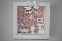 Shadow Box, Trays, Ideas Para, Biscuit, Projects To Try, Sculpture, Crochet, Home Decor, Christmas Crafts