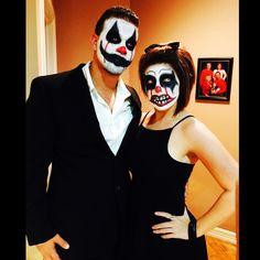 #halloween #clown #scary #Couple
