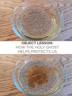 object lesson how the holy ghost helps protect us