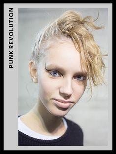 Fashion Week Hair - Giamba | allure.com