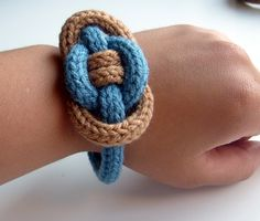 Tricotin bracelet by nerdytogether