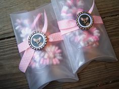 Girls Birthday Princess Tea Party Candy Necklace Favor Gift Box