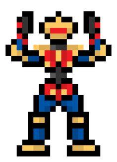 8 Bit Alpha-5 (Power Rangers)