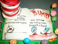 Dr. Seuss Baby Shower Cake Photo 2