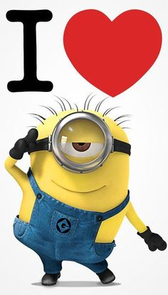 I love minions! - http://feedingthe.net/pin/i-love-minions/