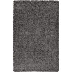Affinity Linens Affinity Hand-woven Grey Area Rug Size: 60'' Wx96'' L