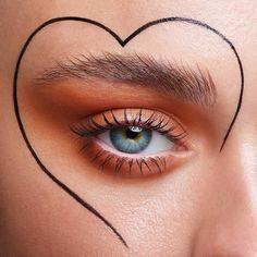 What's Makeup ? What is Makeup ? Generally, what's makeup ? Makeup Goals, Makeup Inspo, Makeup Art, Makeup Tips, Beauty Makeup, Hair Makeup, Makeup Ideas, Hair Beauty, Creative Makeup