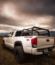 All-Pro Modular Pack rack for the 16+ Toyota Tacoma truck. This is a bolt together design that requires no welding and offers endless accessory configurations.