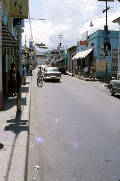 CARACAS - VENEZUELA 1950'S SLIDE