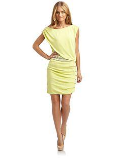 Halston Heritage - Off-The-Shoulder Dress - Saks.com