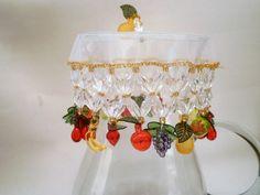 Kit frutas = cobre jarra + cobre taças