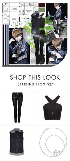 """""""Oh Sehun; Solo"""" by seoulmate00 ❤ liked on Polyvore featuring Paige Denim, Forever New, Ally Fashion, Hermès, iHome, kpop, EXO, exok and Sehun"""