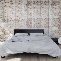 Découvrez Muscat de MissPrint sur aufildescouleurs.com : papier peint moderne aux formes géométriques.