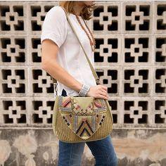 Noonday Collection Vintage Wanderlust Embellished Beaded Boho Shoulder Flap Bag #Noonday #TotesShoppers